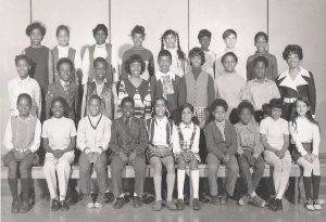 My fifth grade class photo.