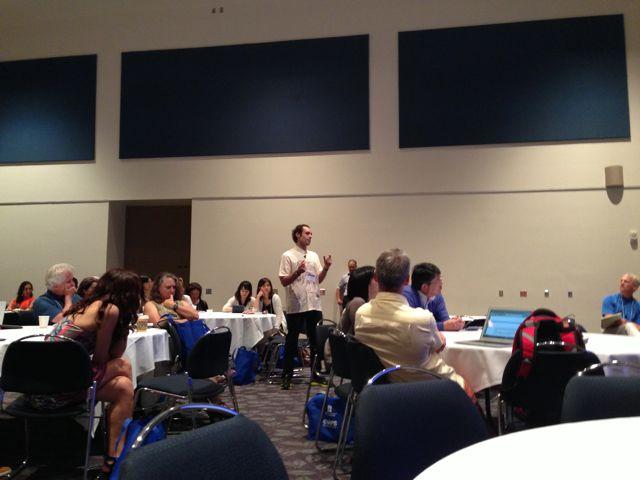 Jesús Ilundain, IAPS Conference, Cal State Fullerton, Sept. 2013